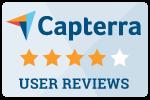 Capterra reviews button
